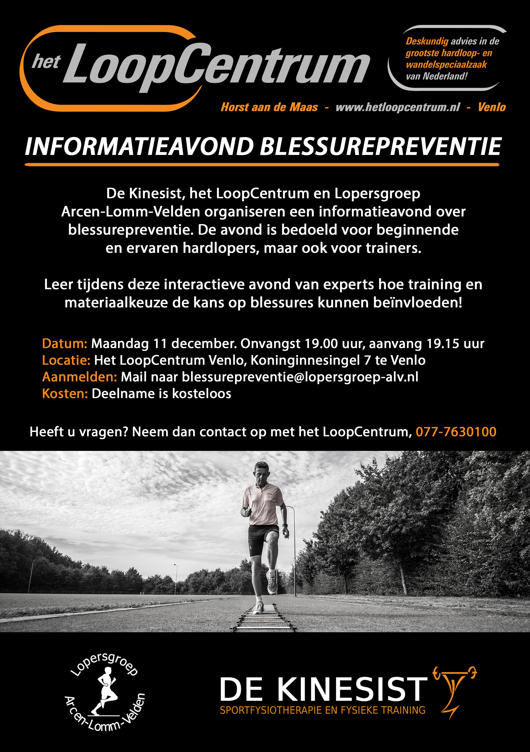 download de flyer over blessure preventie